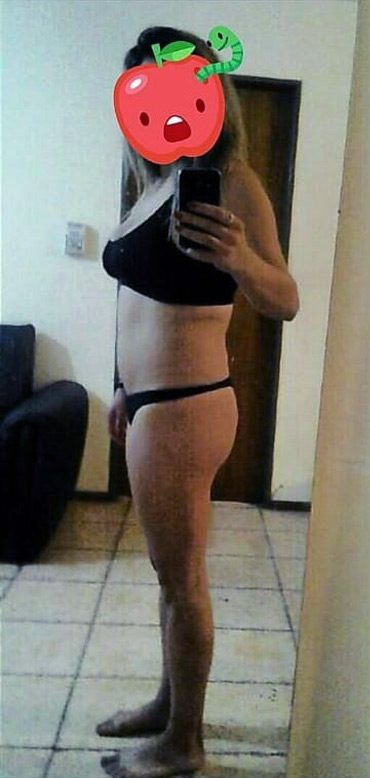 antes de bajar de peso